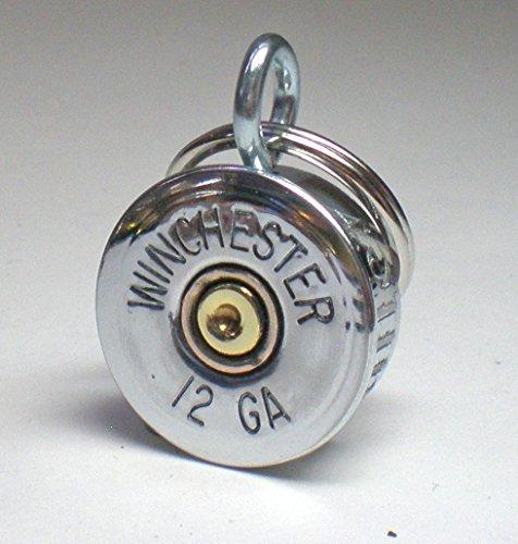 12-Gauge-Nickel-Brass-Win-Shotgun-Engraved-Personalized-Brass-Genuine-Bullet-Pet-Dog-Tag-Pet-IDTag-0