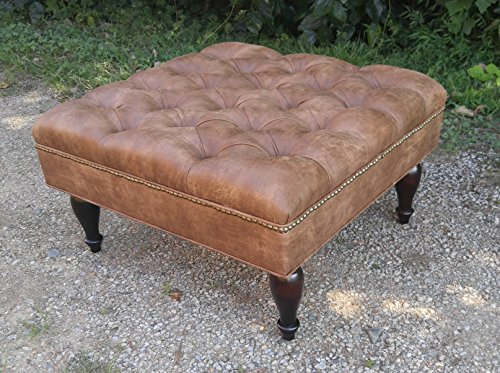 30-SQUARE-Distressed-Vegan-Leather-Tufted-Coffee-Table-Ottoman-0