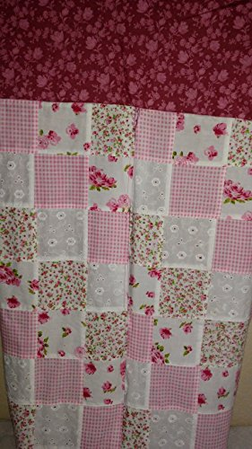 Baby-Girl-Pink-Diaper-Stacker-Storage-Nursery-Decor-Flowers-Quilted-Large-Diaper-Bin-Baby-Shower-Gift-Baptism-0