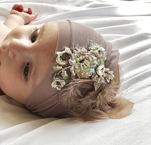 Baby-Headbands-By-Yasmine-Unique-Purple-Soft-Tulle-and-Purple-Lace-infant-Headband-with-feathers-and-a-rhinestone-0