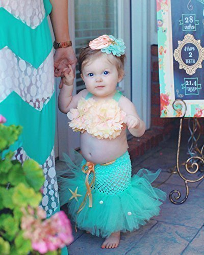 Baby-Toddler-Mermaid-Birthday-Outfit-Costume-Girl-0