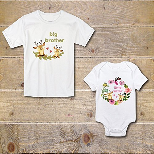 7423b3c80 Big Brother Little Sister Shirts Onesie New Big Brother Matching Shirts Baby  Shower Gift | HandMade Finest. »