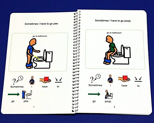 boys potty training kit for autism pecs visual aid for using the
