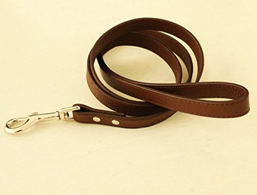 Brown-dog-Leash-Pet-accessory-brown-Leather-leash-Dog-Lovers-Dog-Leash-Dog-accessory-0