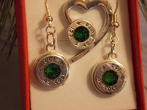 Bullet-jewelry-Heart-necklace-Shotgun-shell-Necklace-Bullets-Sets-Swarovski-crystals-heart-charm-earring-and-pendant-set-0