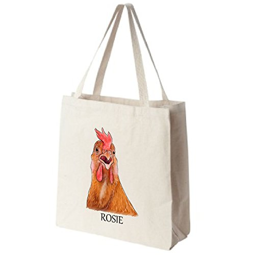 Cotton-Canvas-Reusable-Tote-Bag-Personalized-Chicken-Portrait-Color-Design-By-Tote-Tails-Choose-Your-Breed-0