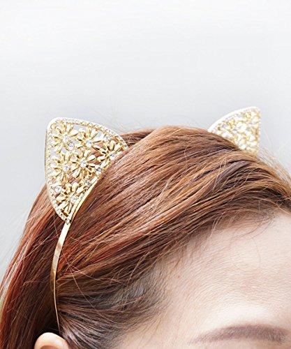 Crystal-Cat-Ears-Cat-Ears-Headband-Gold-Cat-Ears-Headband-Gold-Crystal-Cat-Ears-Jewel-Cat-Ears-Jeweled-Cat-Ears-Rave-Cat-Ears-0