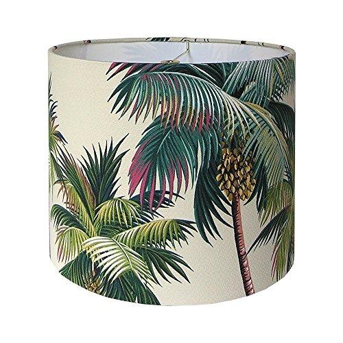 Custom-Lamp-Shade-Waikiki-Lamp-Shade-Palm-Trees-Lampshade-Hawaiian-Bark-Crepe-Hawaiian-Barkcloth-Tropical-Beach-Lampshades-Made-to-Order-9-to-16-Diameter-0