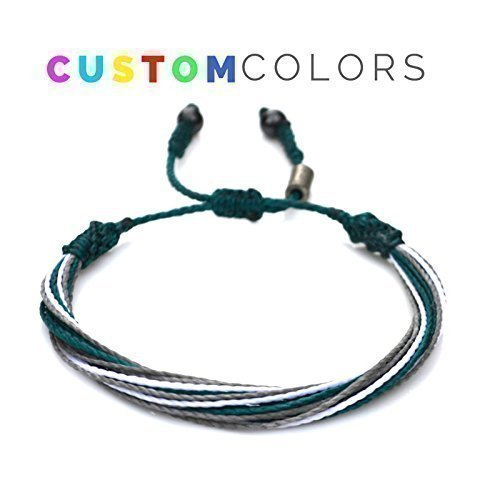 Custom-String-Bracelet-for-College-University-High-School-Sports-Team-or-Country-Flag-Customized-Colors-and-Sizes-Nylon-Cord-Sports-Fan-Gift-by-Rumi-Sumaq-0