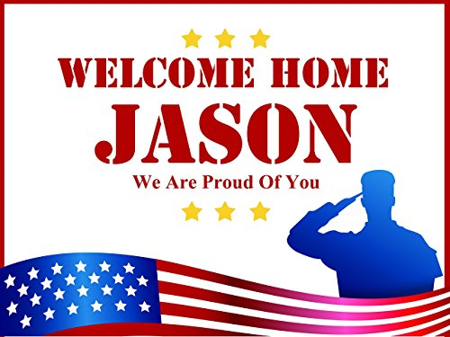Custom-Welcome-Home-Military-Theme-Personalized-Poster-size-24x36-48x24-48x36-Military-Coming-Home-Party-Banner-Wall-Dcor-Handmade-Party-Supply-Poster-Print-0