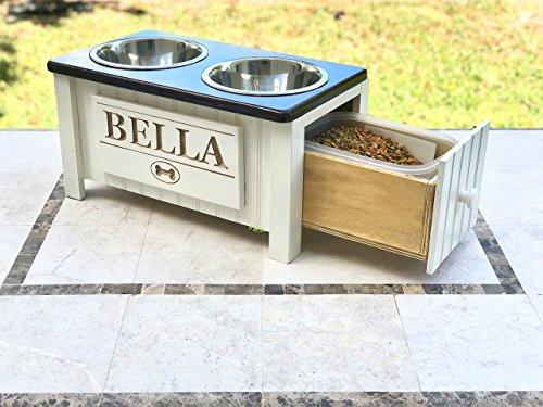 Customized-Dog-Food-Station-with-Storage-0