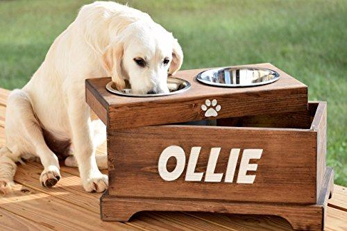 Elevated-Dog-Feeder-and-Storage-Box-Elevated-Dog-Bowl-Rustic-Dog-Bowl-Stand-Raised-Dog-Bowl-Raised-Dog-Feeder-Pet-Bowl-Stand-0