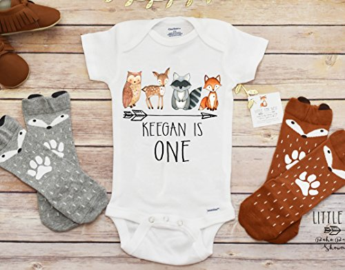 Fall OnesieR Birthday Baby Boy Clothes Shirt