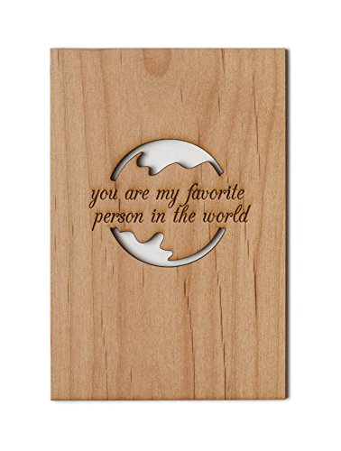 Favorite-Person-in-the-World-Laser-Cut-Wood-Card-Love-5-Year-Anniversary-Boyfriend-or-Girlfriend-Valentines-Day-0