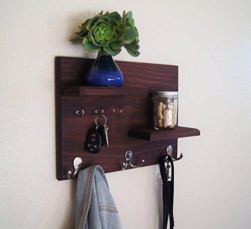 Floating-Shelves-Entryway-Organizer-Key-Hooks-and-Coat-Hooks-0