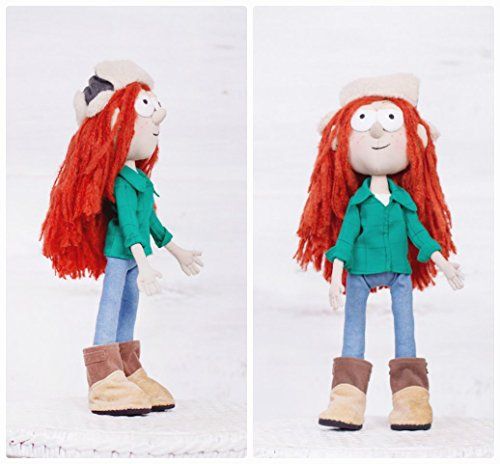 Gravity-Falls-inspired-handmade-Wendy-Corduroy-doll-sits-and-stands-13-in-high-0