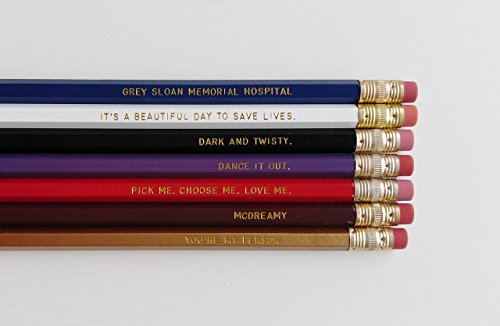 Greys-Anatomy-Engraved-Pencil-Set-Youre-My-Person-Nurse-Gift-Gold-Foil-Pencil-Set-Engraved-Pencils-Funny-Pencils-Gift-for-Nurse-Student-Gift-0