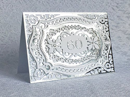 Handmade-60th-Anniversary-Card-Anniversary-Gift-Silver-Foil-Luxury-Anniversary-Greeting-Card-with-Swarovski-Crystals-0