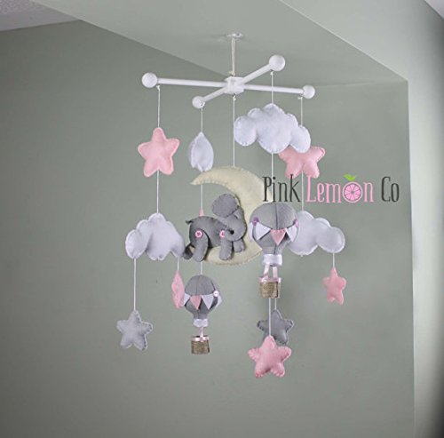 Handmade-Elephant-baby-mobile-0