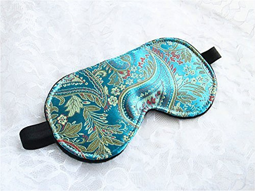 Handmade-Oriental-Sleep-Mask-Lightweight-Comfortable-Eye-Mask-Great-for-Travel-Shift-Work-Meditation-Migraines-Blindfold-Sleeping-Mask-for-Women-Kids-0