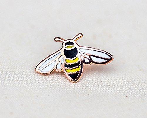 Honey-Bee-Enamel-Pin-Lapel-Pin-Badge-0