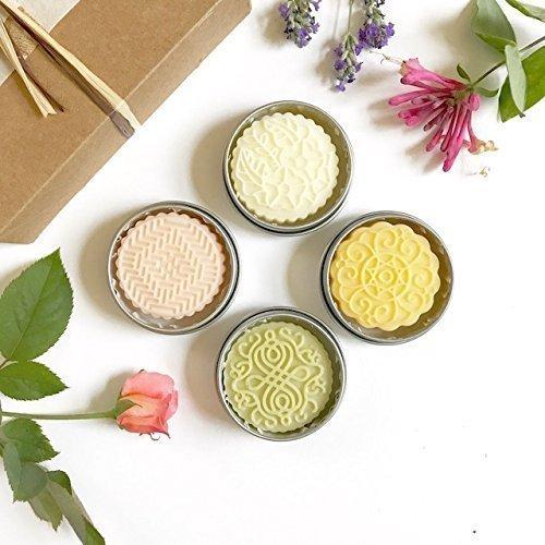 Kaya-Gift-Set-of-4-Solid-Lotion-Bars-Natural-Organic-0
