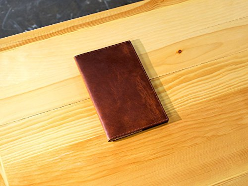 Leather Journal Cover For Moleskine Cahier Notebook