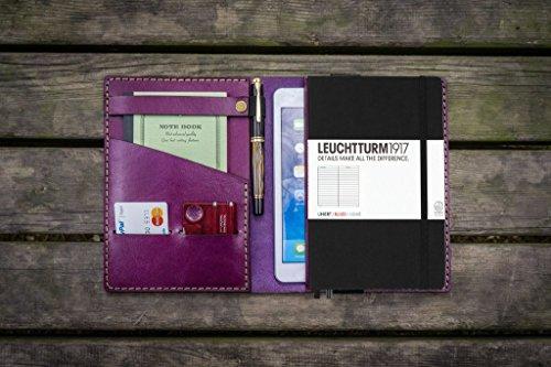 Leather-Leuchtturm1917-A5-Notebook-Cover-Purple-0