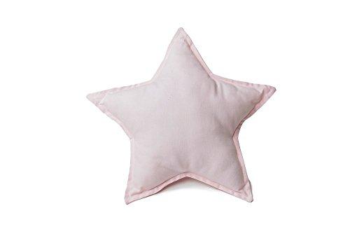 Light-Pink-Star-Shaped-Pillow-0