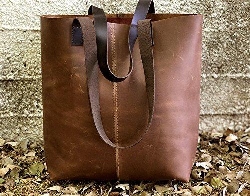 Limor-Galili-New-Vintage-Leather-Tote-Bag-Handbag-Distressed-handmade-purse-0