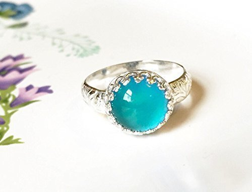 Medium-Crown-Mood-Ring-in-Sterling-Silver-with-Floral-Band-0