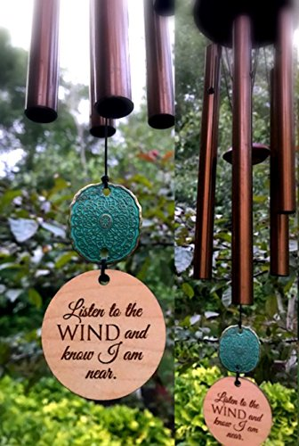 Memorial-Wind-Chime-In-Sympathy-Bereavement-Anniversary-of-death-26-INCH-Copper-Rush-Shipping-for-Funeral-Loss-in-Memory-of-Loved-One-Copper-Listen-to-the-Wind-Memorial-Garden-Remembering-a-loved-one-0
