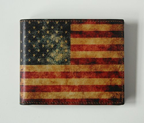 Mens-WALLET-with-AMERICAN-FLAG-US-Flag-Wallet-Genuine-Leather-0