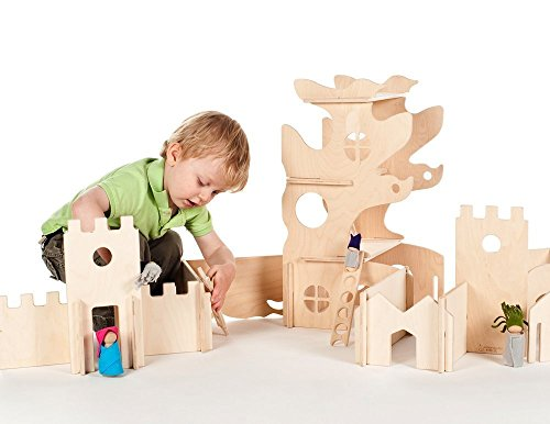 Modular-Tree-House-and-Castle-Building-Walls-Combo-set-0