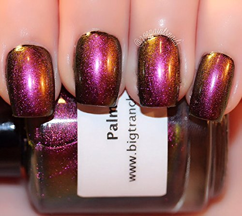 Multichrome-Shade-Shifter-Multi-Color-Shifting-Polish-Custom-Blended-Glitter-Nail-Polish-Indie-Lacquer-Palm-Breeze-FREE-SHIPPING-0