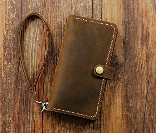 PERSONALIZED-leather-Wristlet-iPhone-6-6s-wallet-case-mobile-wallet-retro-distressed-leather-iPhone-6-6s-plus-wallet-case-cover-IP05MW-B-0