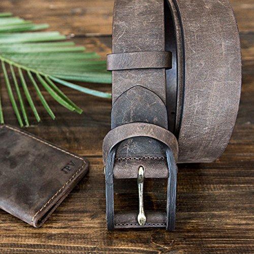 Pegai-Personalized-Distressed-Leather-Belt-for-Men-Rustic-Minimalist-Leather-Belt-Monogrammed-Unique-Belt-Boone-Chestnut-0