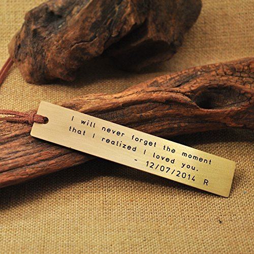 Personalized-Bookmark-Metal-Bookmark-Hand-Stamped-Bookmarks-Wedding-Gift-Copper-Bookmark-Engraved-Bookmark-Perfect-Gift-For-A-Bookworm-Gift-For-Her-Reader-0