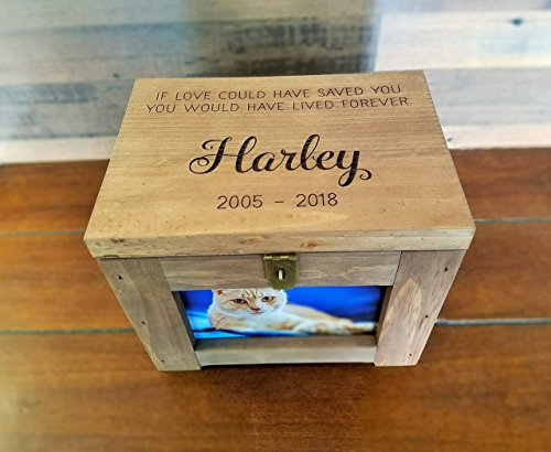 Personalized-Pet-Memory-Box-with-Name-and-Quote-or-Poem-Memorial-Photo-Frame-Chest-Picture-Keepsake-Dog-Cat-Lizard-Bird-0