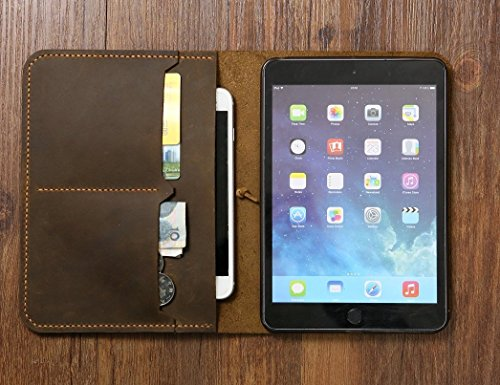 Personalized-Vintage-Distressed-genuine-real-leather-iPad-mini-2-3-4-case-cover-sleeve-iPad-mini-organizer-case-IMX005S-0