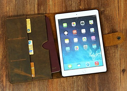 Personalized-distressed-leather-iPad-pro-case-cover-iPad-mini-case-iPad-air-case-cover-leather-iPad-portfolio-IPD05NC-0