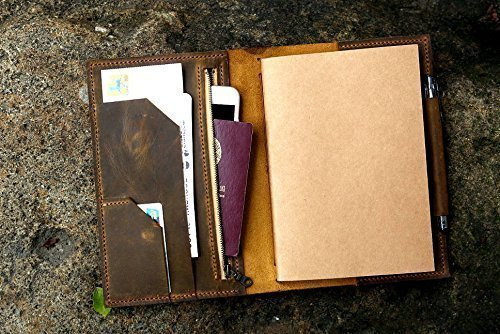 Personalized-leather-midori-travel-journal-A5-refillable-notebookleather-passport-boarding-pass-holderleather-travel-organizer-NA505TZ-0