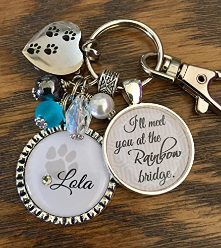 Pet-Loss-Gift-Pet-Memorial-Sympathy-Gift-Personalized-Cremation-keychain-Ill-meet-you-at-the-Rainbow-bridge-Remembrance-fur-baby-0
