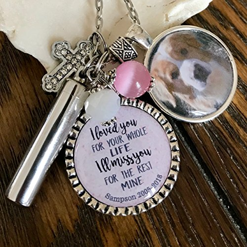 Pet Memorial Necklace Urn Jewelry Cremation Jewelry