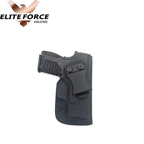RUGER AMERICAN COMPACT 9MM GUN HOLSTER KYDEX IWB BLACK~~DUAL SIDED SWEAT  SHIELD~~ | HandMade Finest