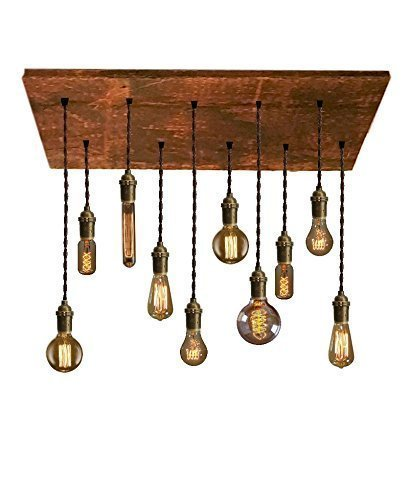 Wood Chandeliers For Dining Room: Reclaimed Wood Chandelier