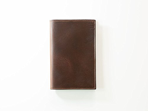 Refillable-Leather-Journal-Horween-Chromexcel-Leather-Journal-with-Moleskine-Refills-Brown-Notebook-Refillable-journal-Moleskine-Pocket-Size-35-x-55-refills-0