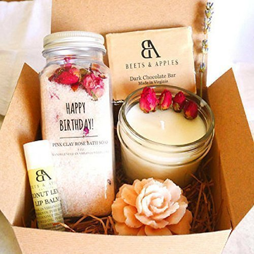 SHIP-NEXT-DAY-Happy-Birthday-Gift-Basket-by-Beets-Apples-Birthday-Spa-Gift-Basket-Spa-Gift-set-Gifts-for-women-Birthday-Gift-ideas-for-Women-Arrive-within-1-3-business-days-once-shipped-0