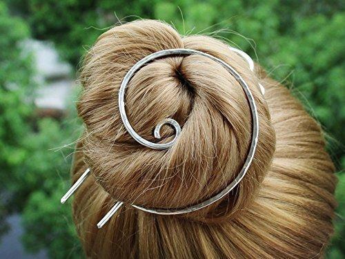 Silver-Bun-Holder-Hair-Fork-Hair-Slide-Hair-Brooch-Hair-Clip-Barrette-Hair-Pins-Decorative-Hair-Sticks-for-Buns-Women-Gift-0