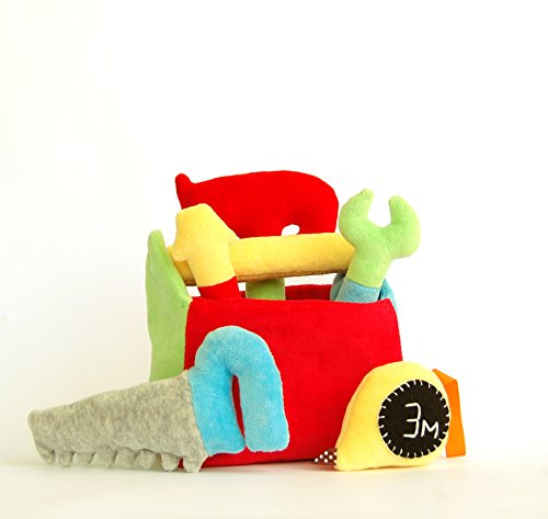 Tool-Box-Gift-for-Boy-Plush-Hammer-Baby-Rattle-0